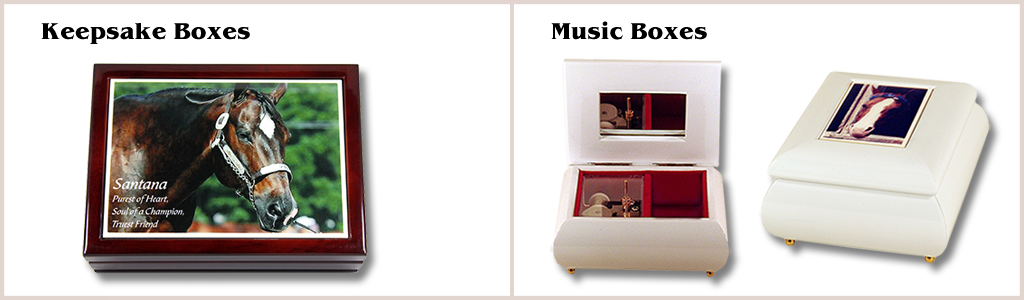 Keepsake Boxes, Music Boxes
