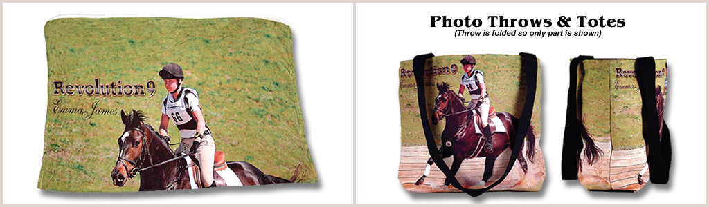 2-Sided Photo Blankets